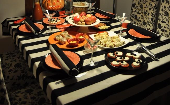 tezturas  halloween ambiente mesa 2