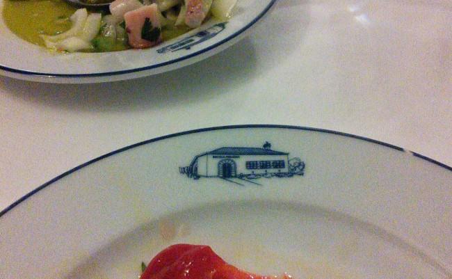 salada de pimentos restaurante A Escola