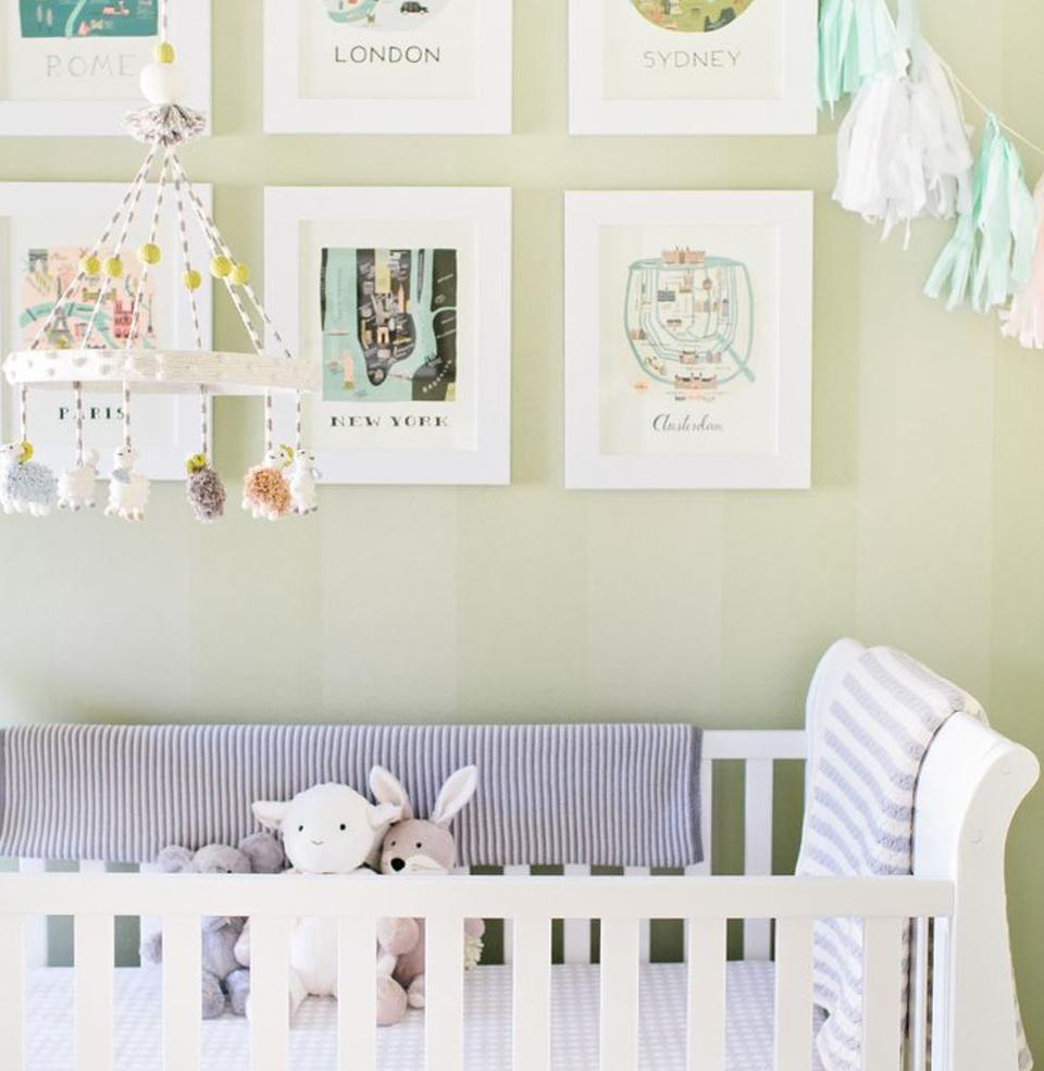 decoracao interiores quarto bebe:Decoração de Interiores