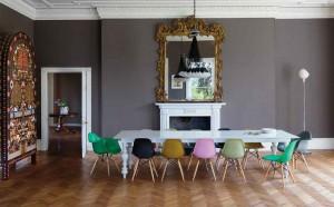 Combinar cadeiras mesa de jantar