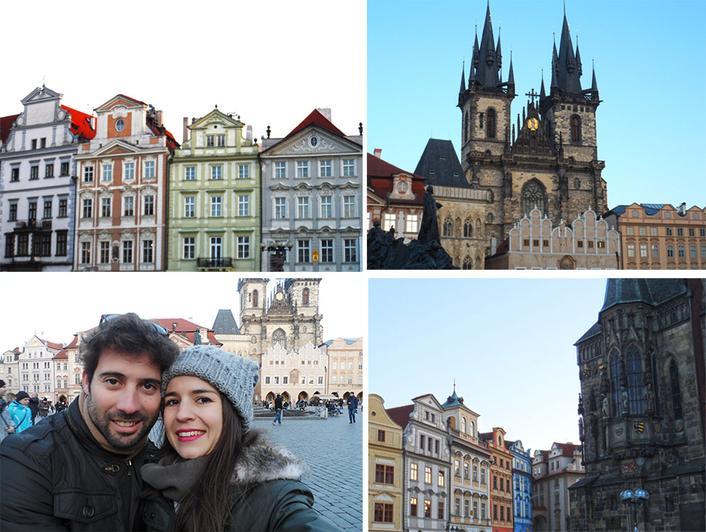 Praga-praça da cidade velha